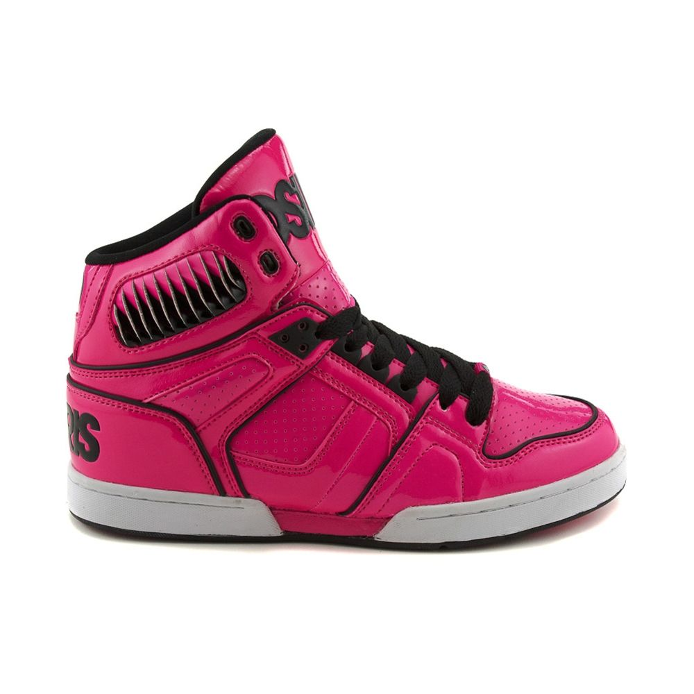 3a7f838ea8 osiris shoes for girls | ... Osiris NYC 83 Ultra Skate Shoe, Pink Black  White | Journeys Shoes