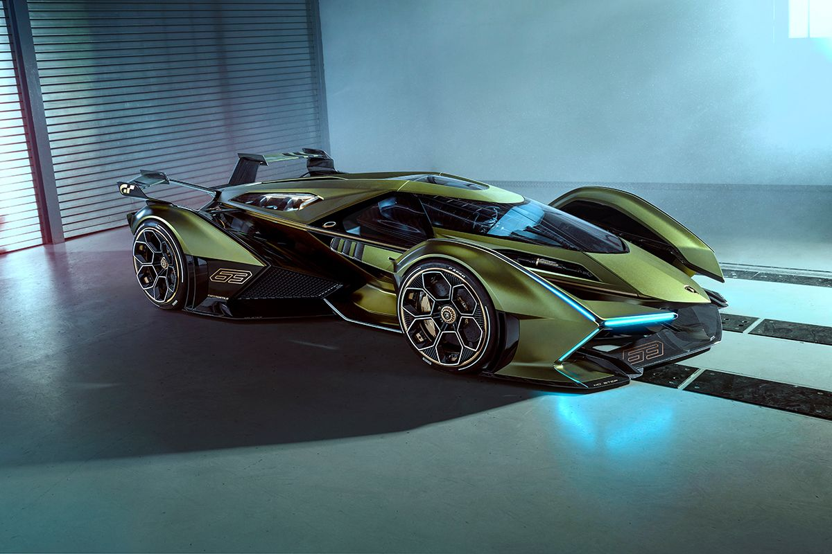 Lamborghini Lambo V12 Vision Gran Turismo — urdesignmag