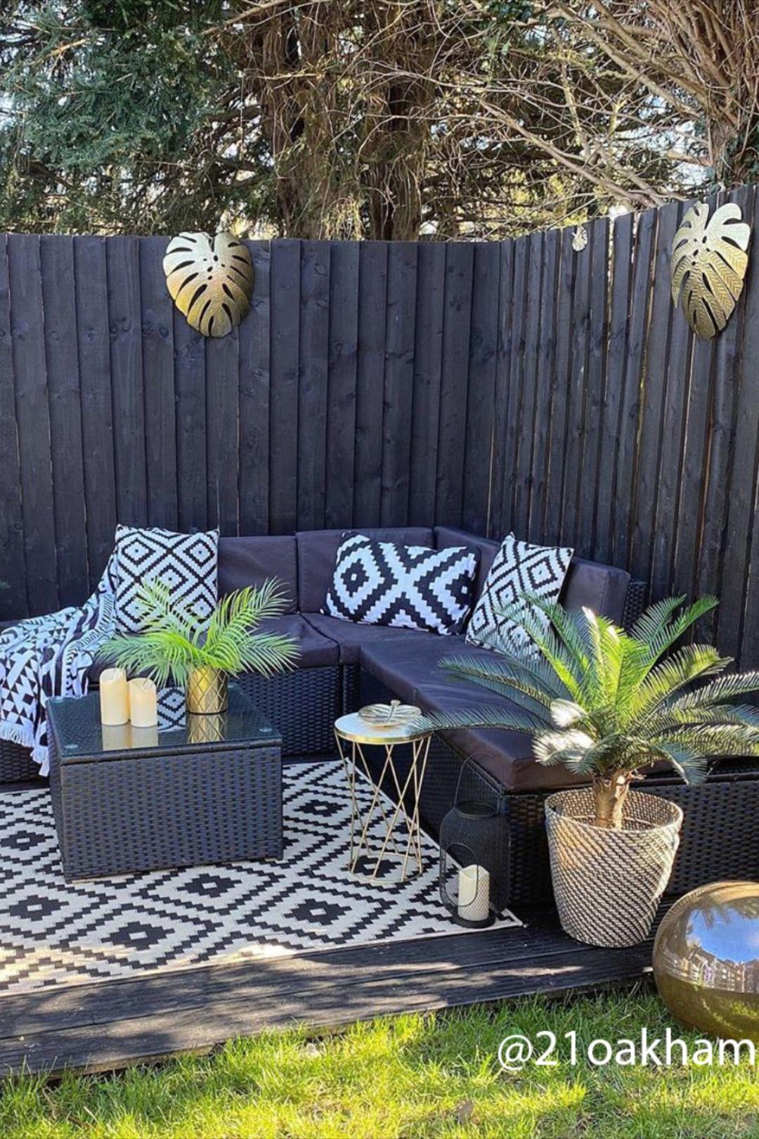 Outdoor Rug Inspo Back Garden Design Garden Sitting Areas Outdoor Gardens Design