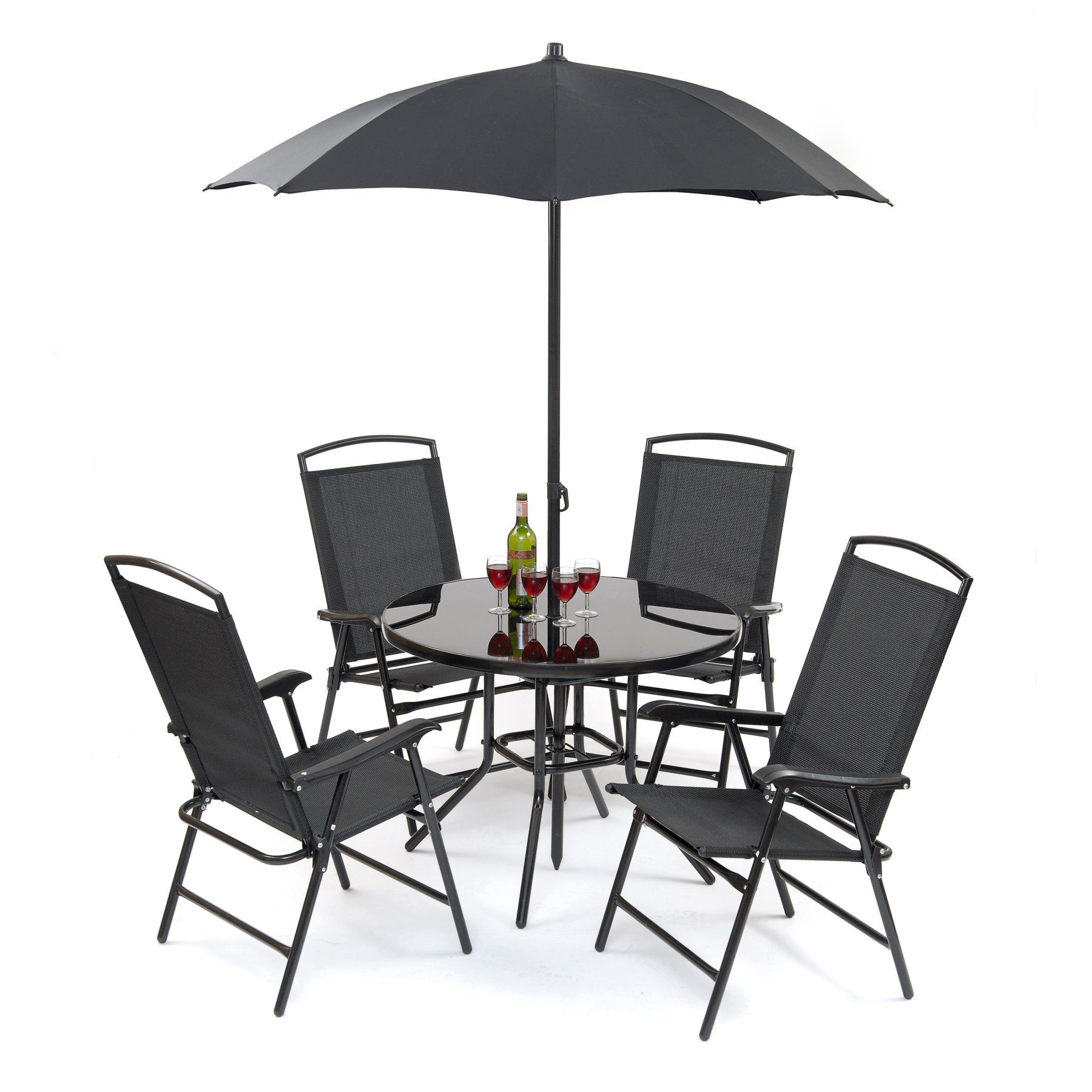 Suntime Outdoor Living Havana Black Steel 6 Piece Patio ... on Suntime Outdoor Living  id=55020