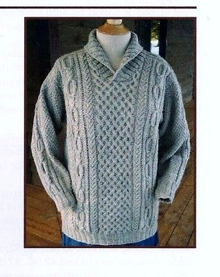 COZY-SHAWL-COLLAR-PULLOVER-by-JANET-SZABO-OF-BIG-SKY-KNITTING-DESIGNS
