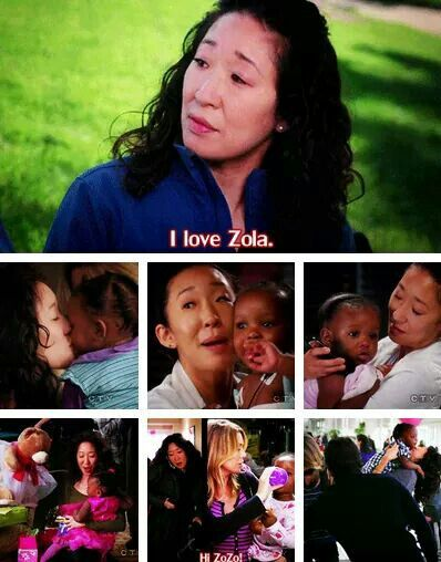 She is so good with children, she just never wanted any. And that breaks my heart because it caused my OTP to sink. #greysanatomy