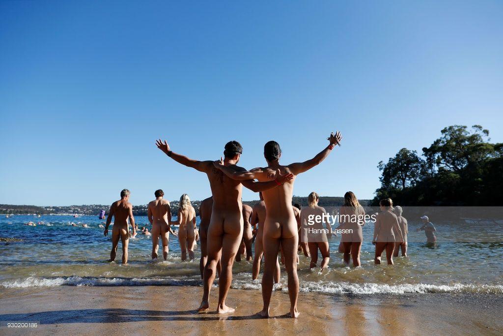 In Swim australia nude