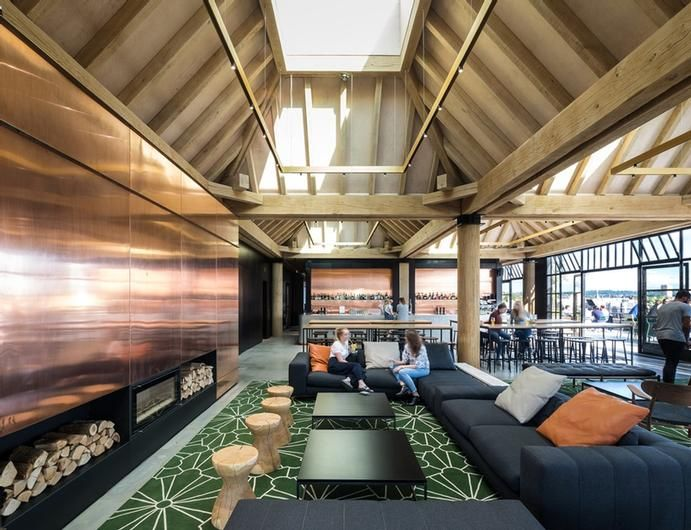 2018 Idc Finalists Image Galleries Interior Design Competition Idc Wc Iida Design Gather Office Decor Office Interiors Department Store