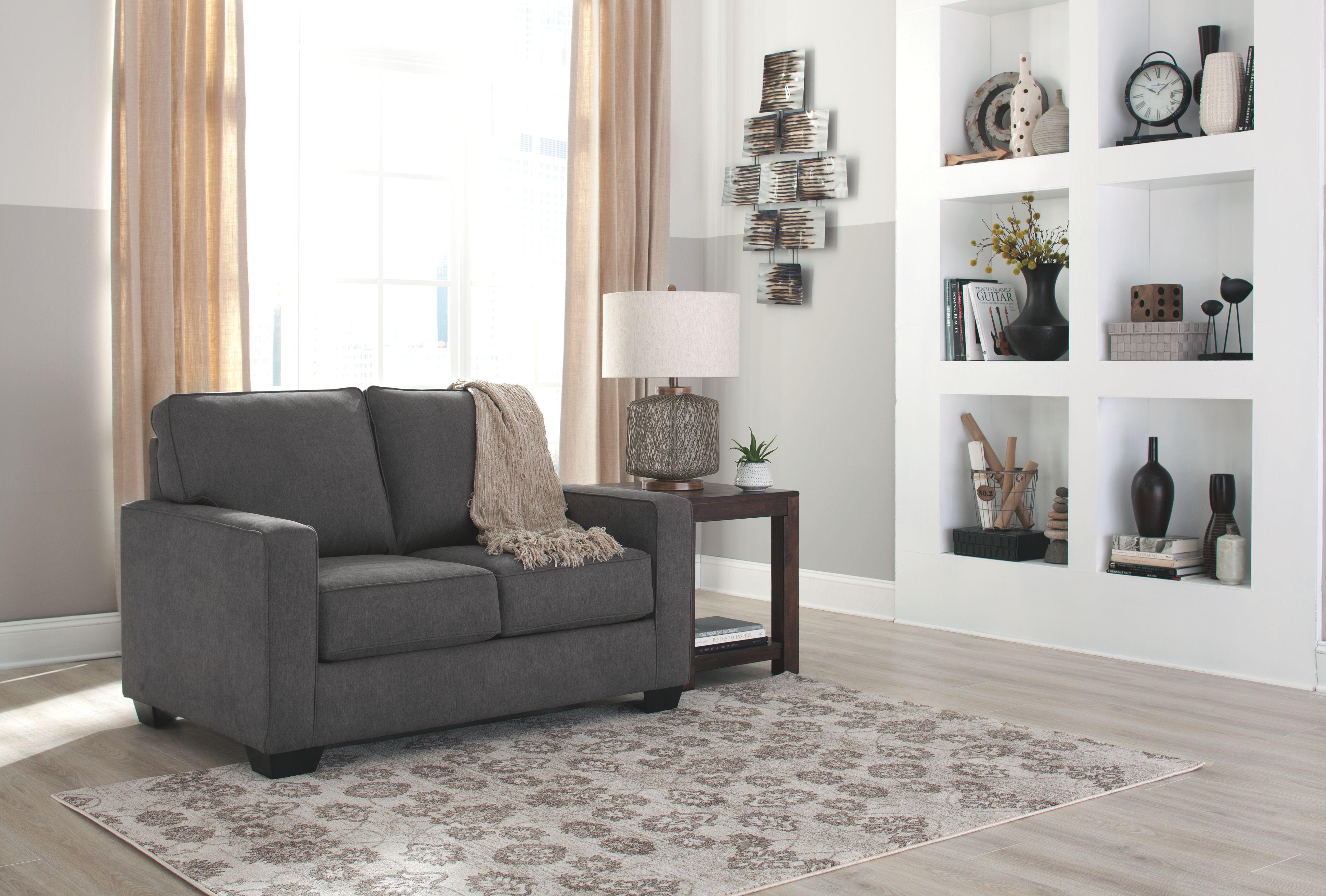 Zeb twin sofa sleeper charcoal modernfurnitureideas reclaimed