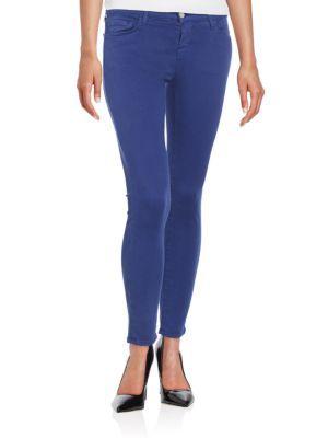 J BRAND Photo Ready Cropped Skinny Ankle Jeans. #jbrand #cloth #jeans