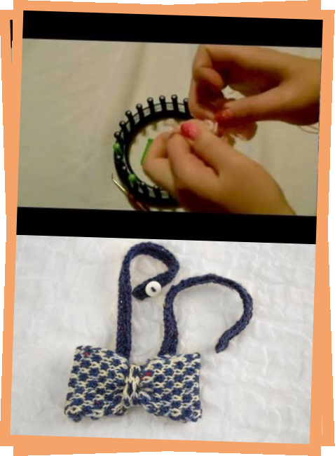 Photo of How To Make A Loom Knitted Bow