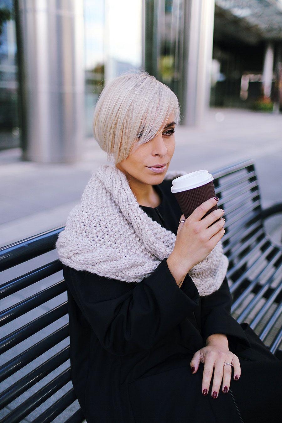 Pearl alpaca wool snood | Knitted scarf | Infinity scarf | Chunky scarf | Shalf | Loop scarf | Hooded | Designer's scarf | Kotè design by KoteStudio on Etsy