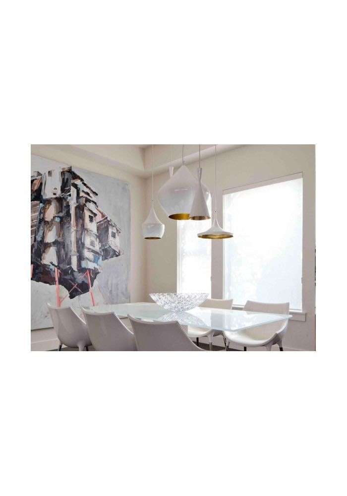 Contemporary chandeliers tom dixon beat stout white on b3 eshop online