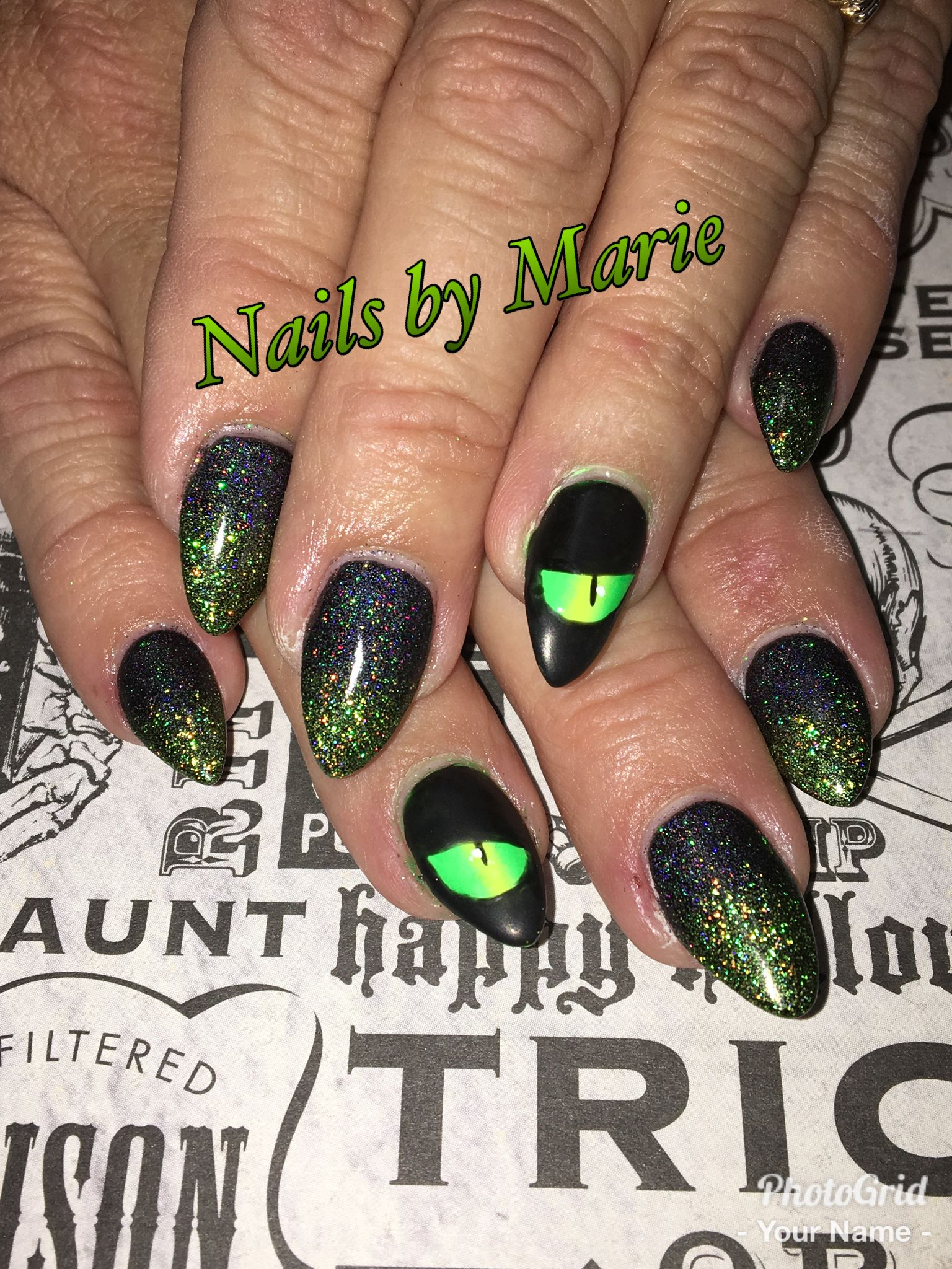 Pin by Marie Grose on A Nails Halloween (With images ...