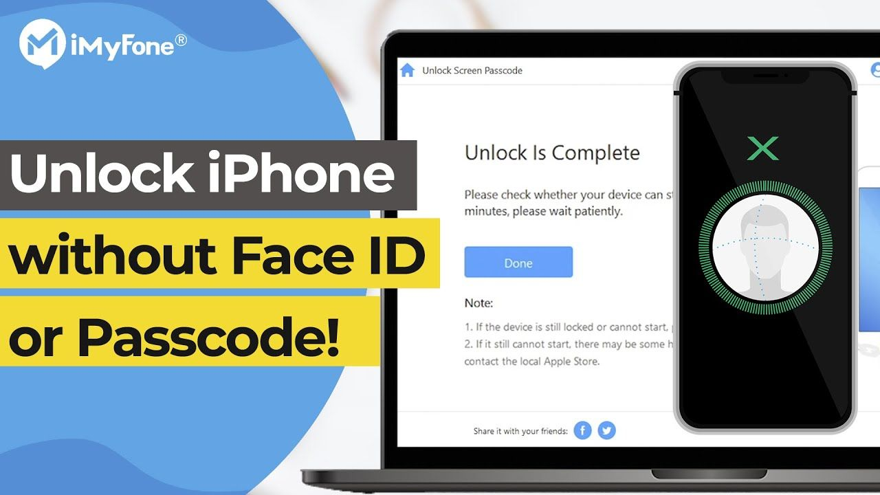 How to unlock your iphone without face id or passcode ios