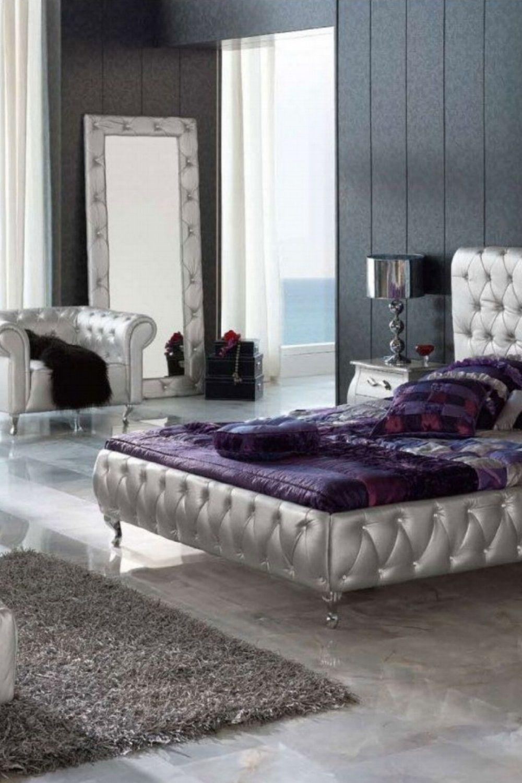 50 Master Bedroom Designs Silver bedroom