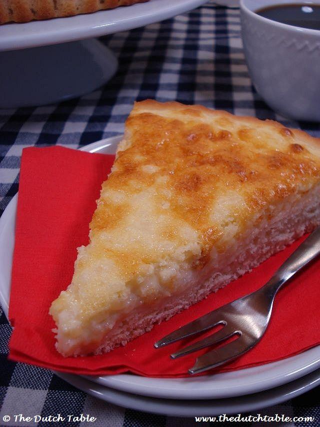 Dutch Food - Rijstevlaai