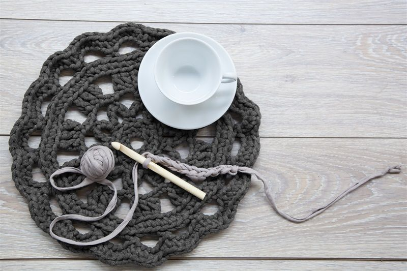 Zpagetti Doily Crochet Tutorials Pinterest Teppich Häkeln