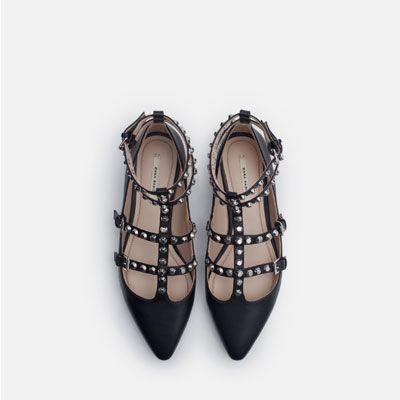Imagen 3 de BAILARINA TACHAS de Zara Zara de Shoe Fantasia cf0b6e