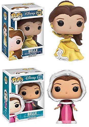 Funko Pop Disney Princess Belle Winter Belle Stylized Vinyl