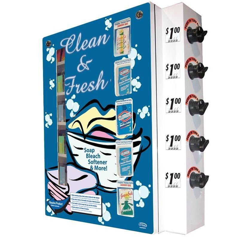 Seaga Sl1000 Laundry Detergent Vending Machine Designed For Wall