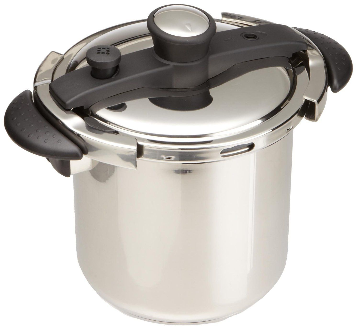Fagor duo 8 quart pressure cooker - Concord 8 Quart Stainless Steel Pressure Cooker With Try Ply Bottom Spc22 8