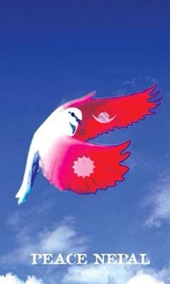 Peace Nepal Peace Flag Nepal Flag Peace