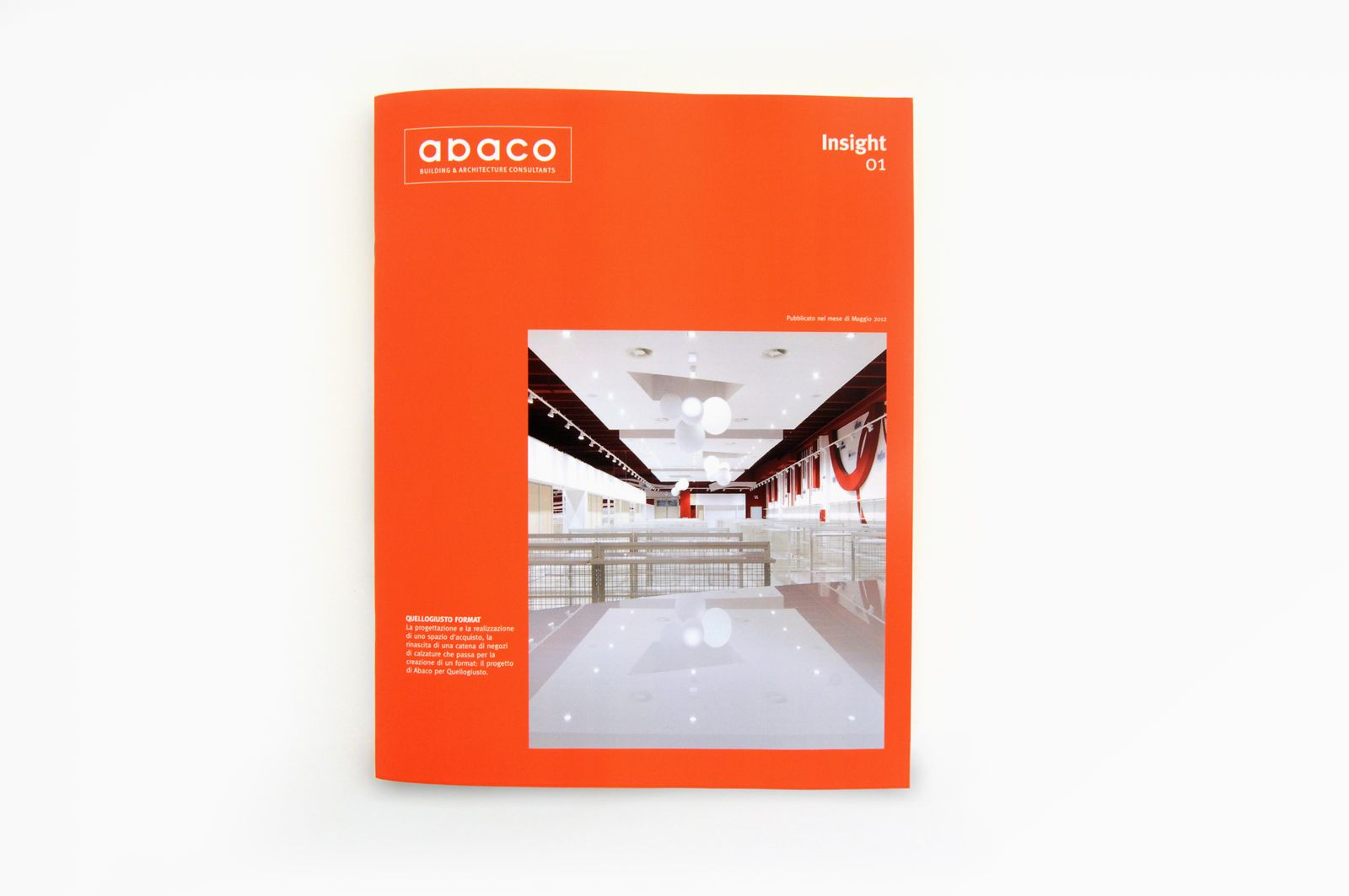 CASE STUDY 08 / Abaco. Copyright (C) Tessari Associati S.r.l. all rights reserved.