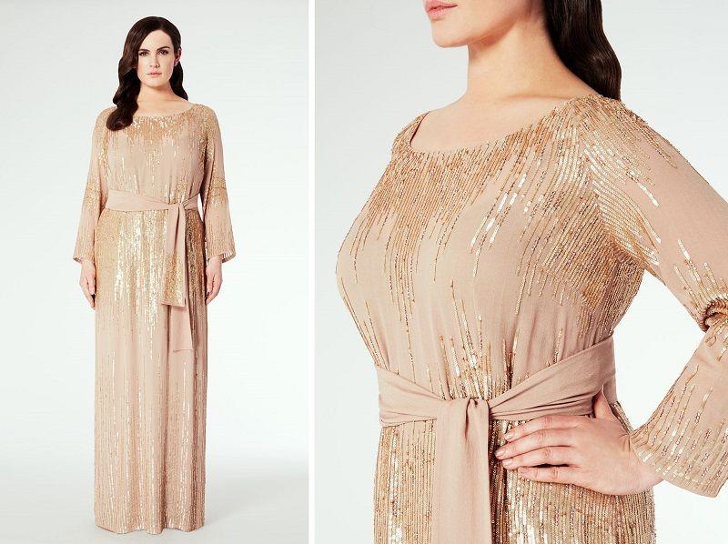 Длинные вечерние платья для полных Марина Ринальди (4)  2b47d1c3ed8f6