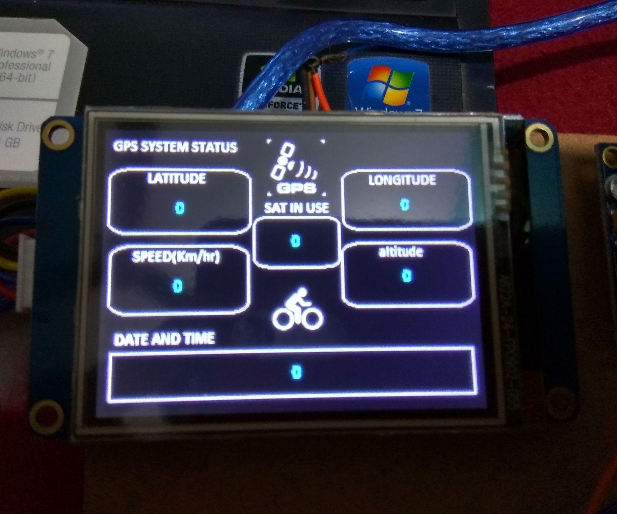 Arduino Display Nextion - Year of Clean Water