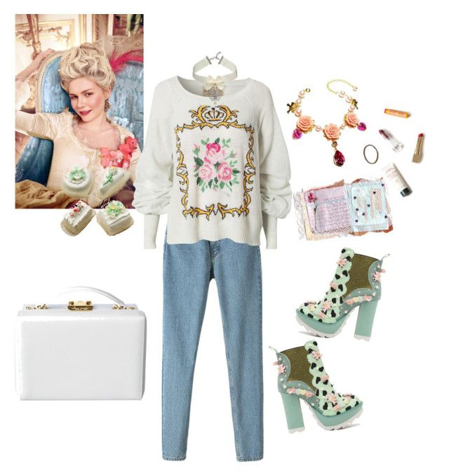 """""""casual marie antoinette"""" by diamondsarefordinner ❤ liked on Polyvore featuring Wildfox and Irregular Choice"""