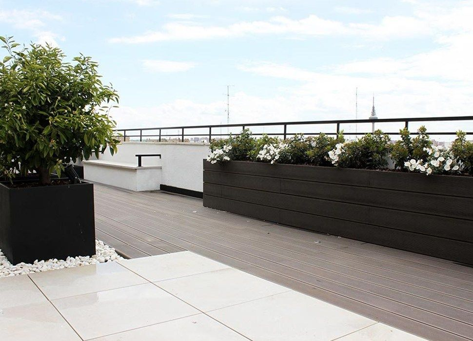 Terraza Con Jardín Para Eventos En Madrid Gardens Rooftops