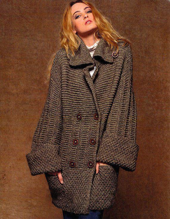 Chaqueta mujer mano mano punto capa aran de la mujer suéter | ropa ...