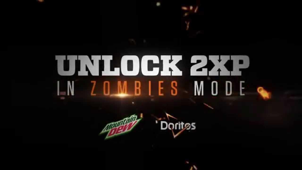 Mountain Dew & Doritos | Unlock 2XP in Zombies Mode