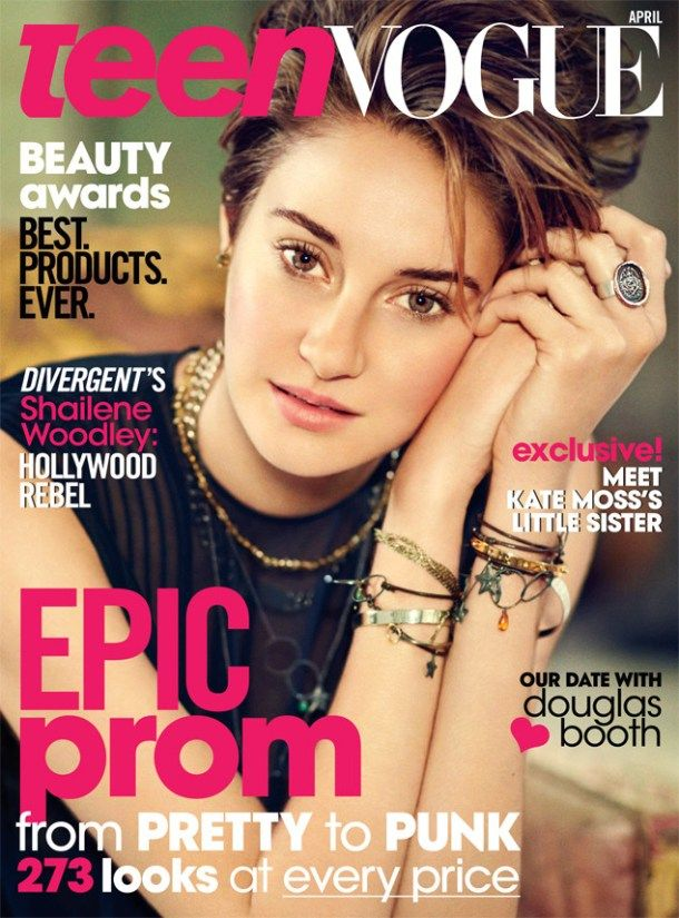 Shailene Woodley Blasts Twilight Series to Teen Vogue: Its About An Unhea...
