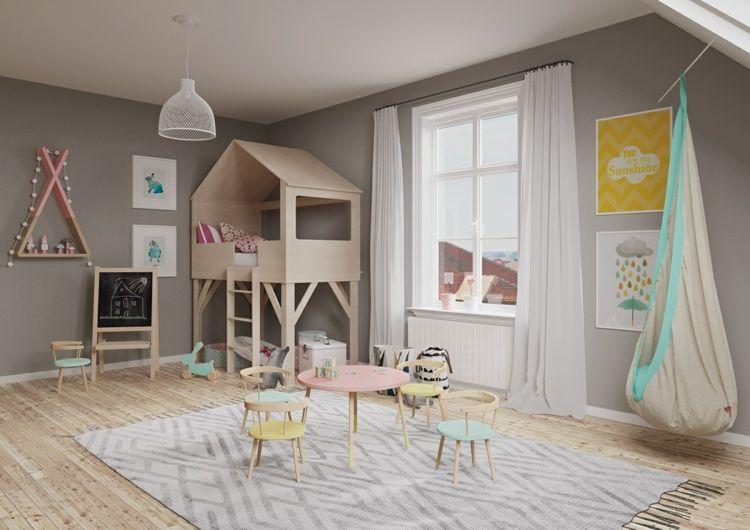 Baumhaus Modernes Kinderzimmer Design Ideen Bett Schöne Kinderzimmer Möbel  #kids #bedroom