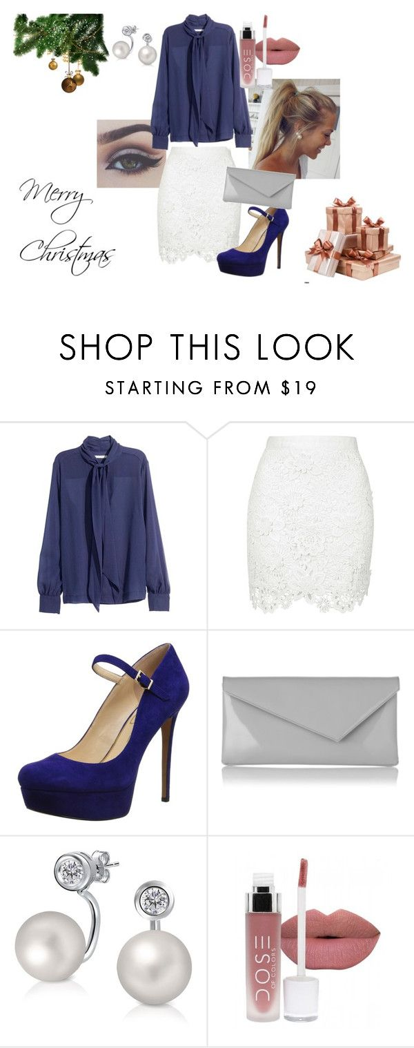 """Christmas #4"" by modefan2 on Polyvore featuring mode, Jessica Simpson, L.K.Bennett et Bling Jewelry"