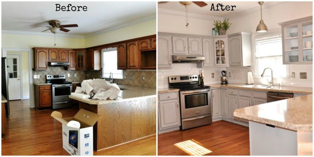 Amazing kitchen cabinet Before & After transformation with Paris ...