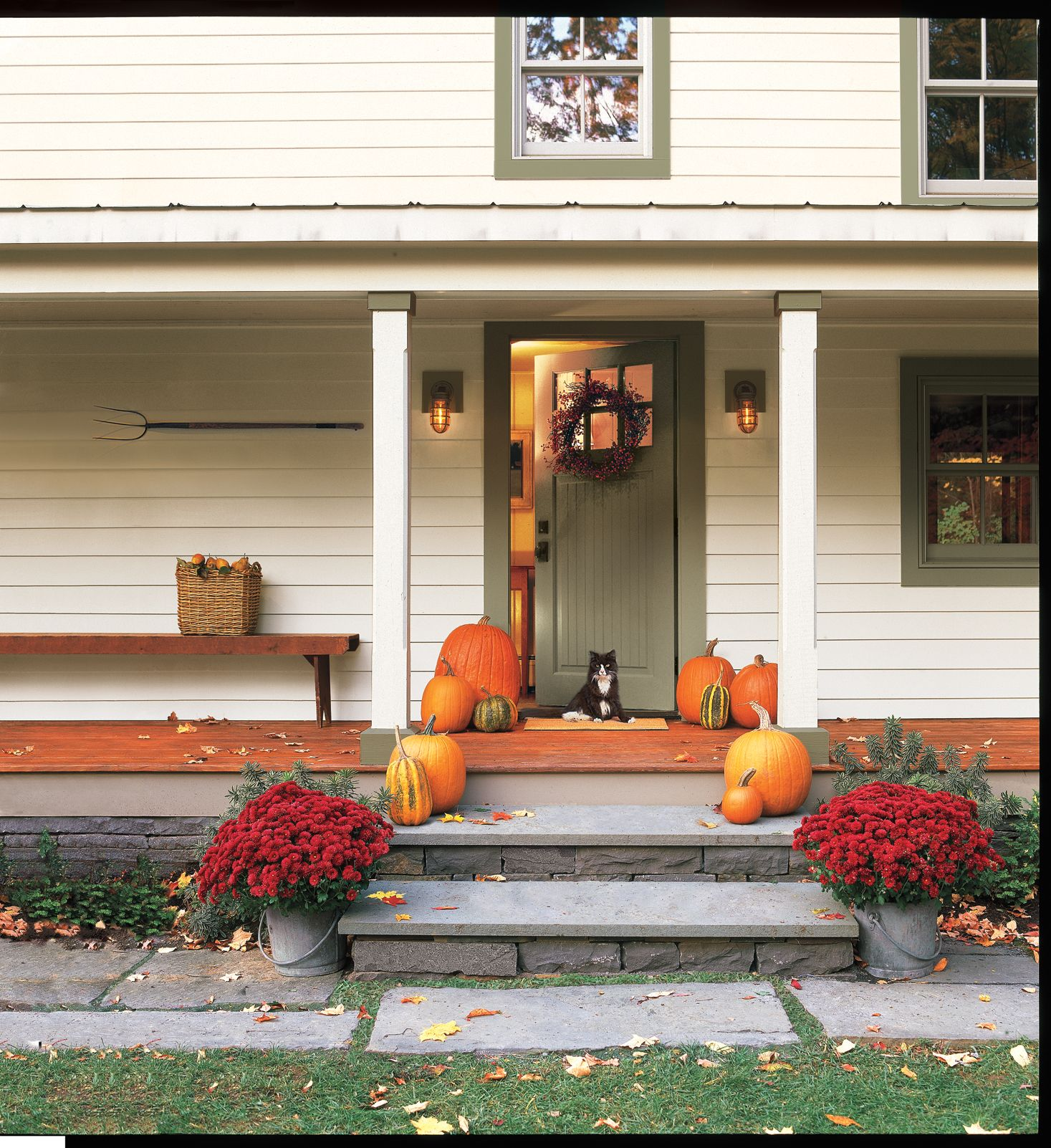 Easy Fall Prep for a Warm and Cozy Home | Cozy house, Old ...