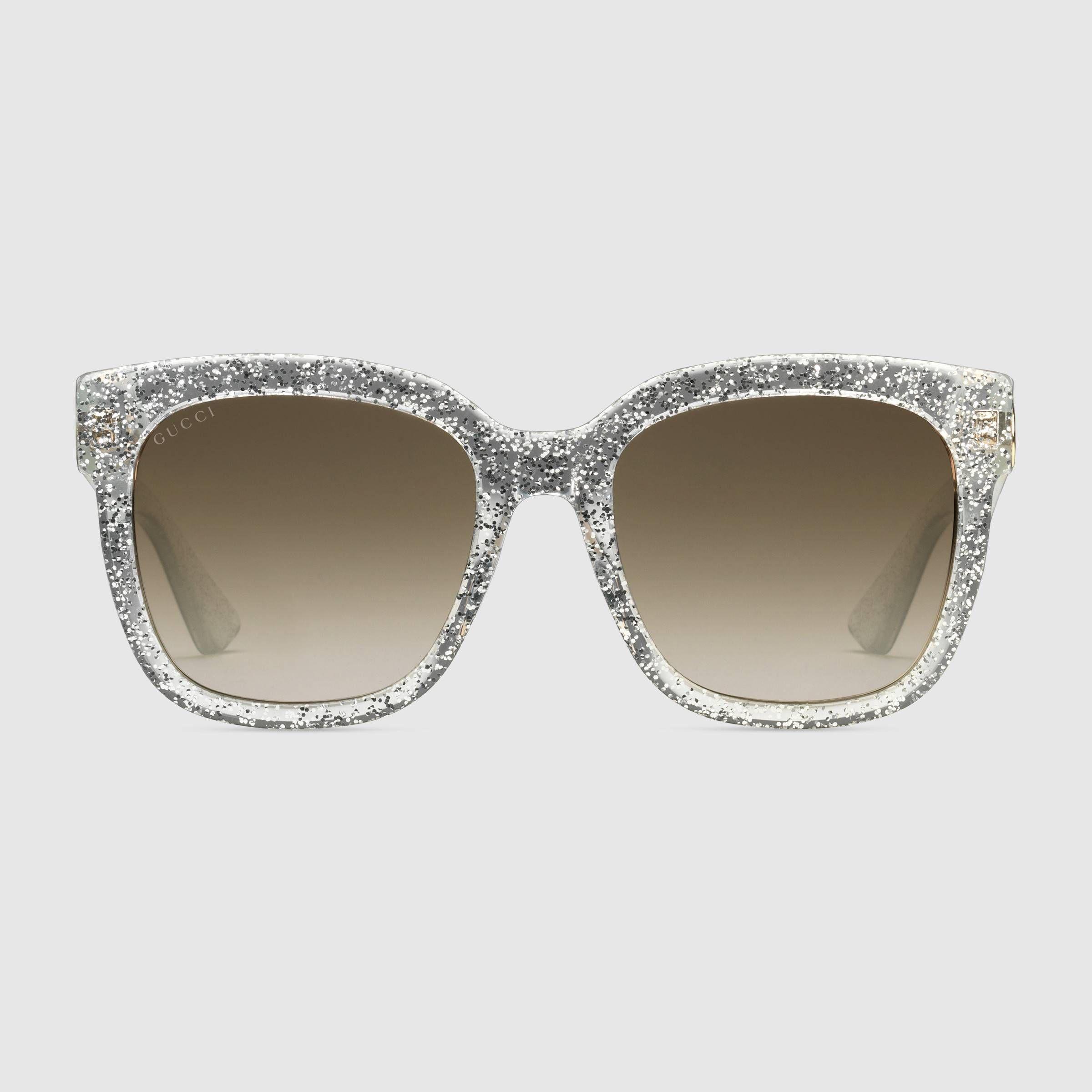 Gucci Glitter Sunglasses   Joy\'s Wishlist   Pinterest