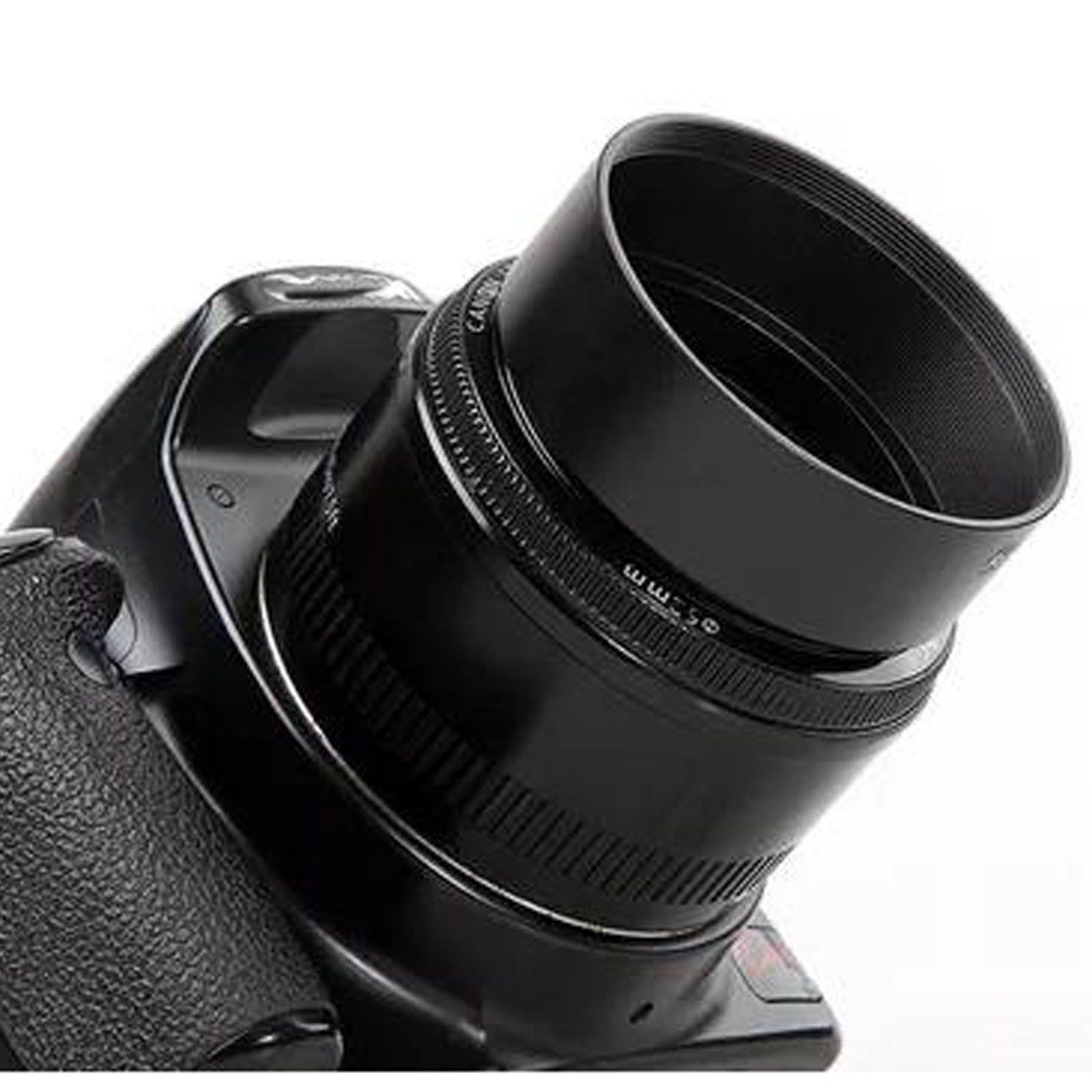 198 52mm Standard Metal Lens Lenses Hood Black For Digital Canon Cameras Screw Mount Nikon Sony Pentax Ebay Electronics