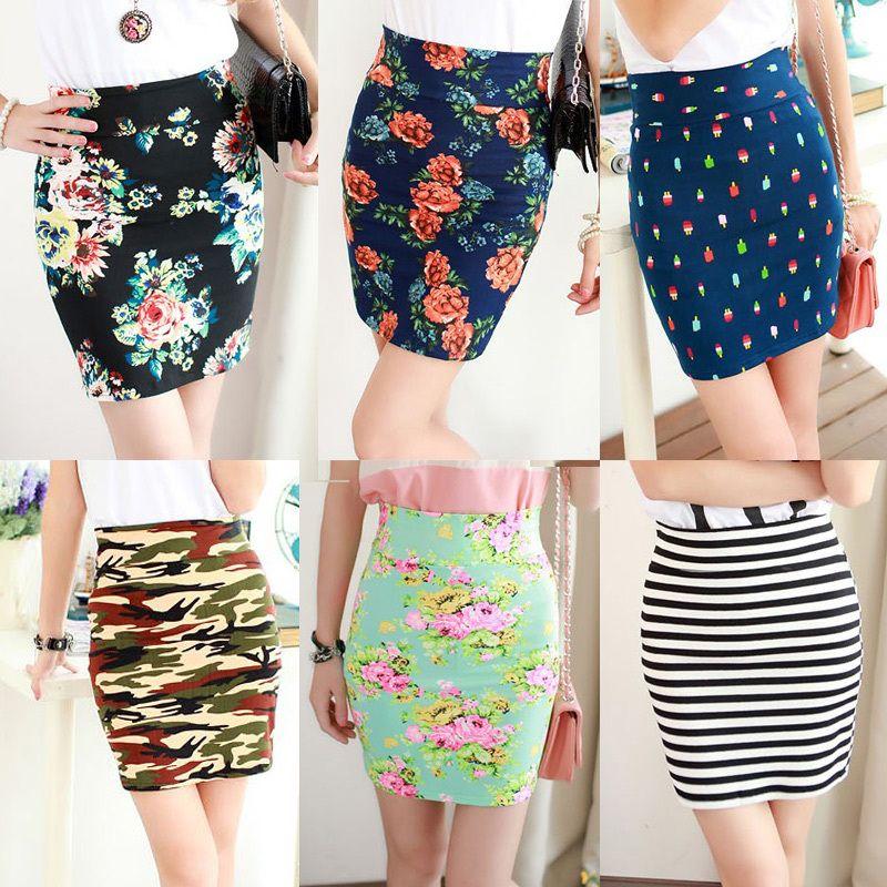 2013 women's fancy print short skirt slim hip skirt elastic bust skirt female skirt step $8,99