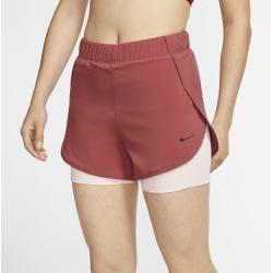 Photo of Nike Flex 2-in-1 Women's Training Shorts – Red Nike