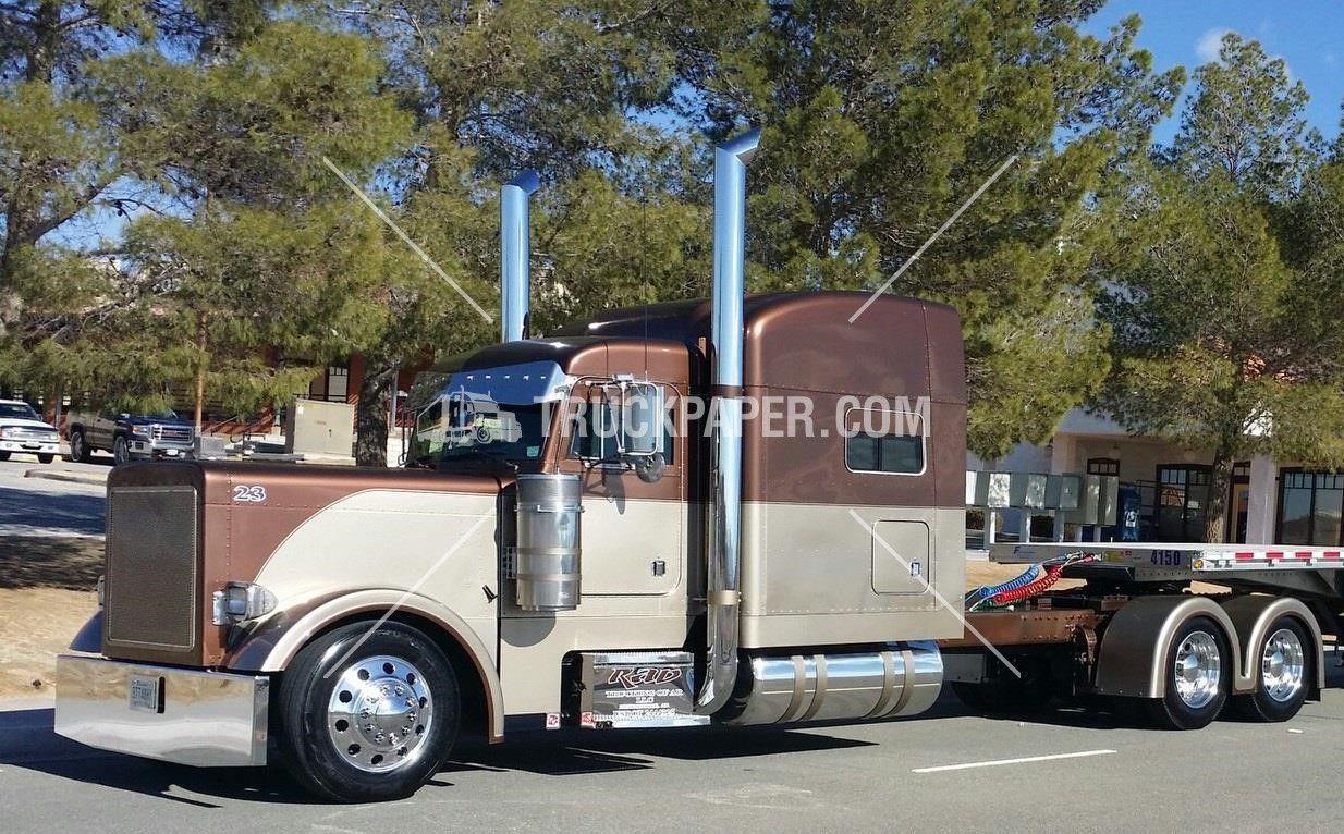 2001 peterbilt 379 heavy duty trucks 65 000 flatbed trucks for sale at truckpaper com