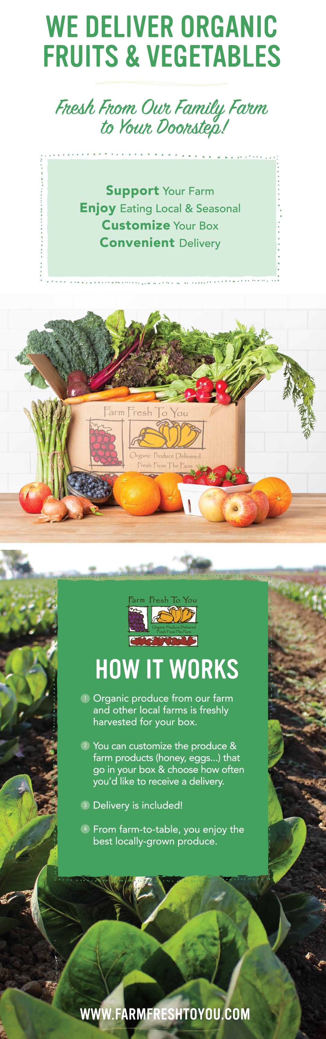 Farm fresh to you sends you fresh organic sustainable produce to farm fresh to you sends you fresh organic sustainable produce to help you cook forumfinder Images