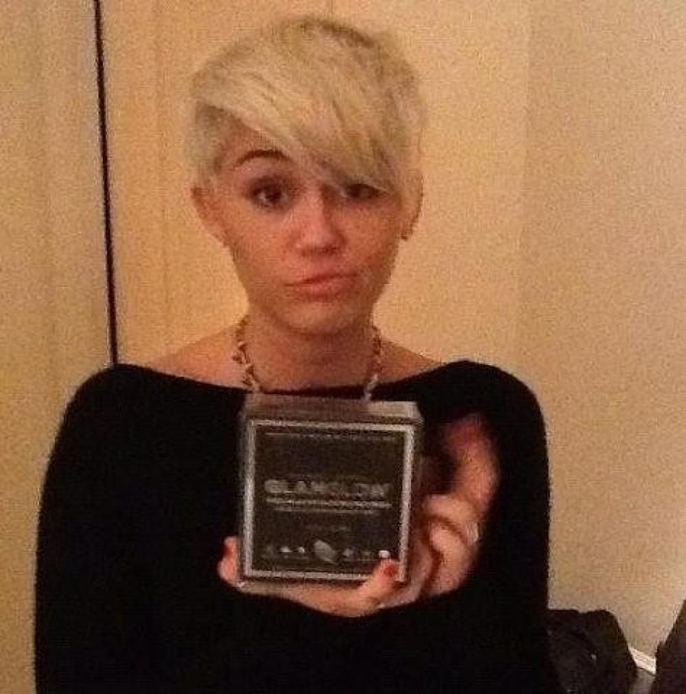Perm for very short hair this epic perm really speaks for itself - Miley Cyrus Short Hair 2013 Google Search