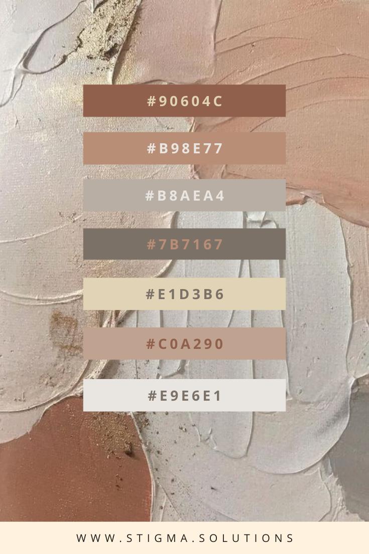 Nude Neutral: Color Palette
