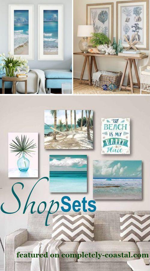 Create A Stunning Display With Coastal And Beach Theme Wall Art