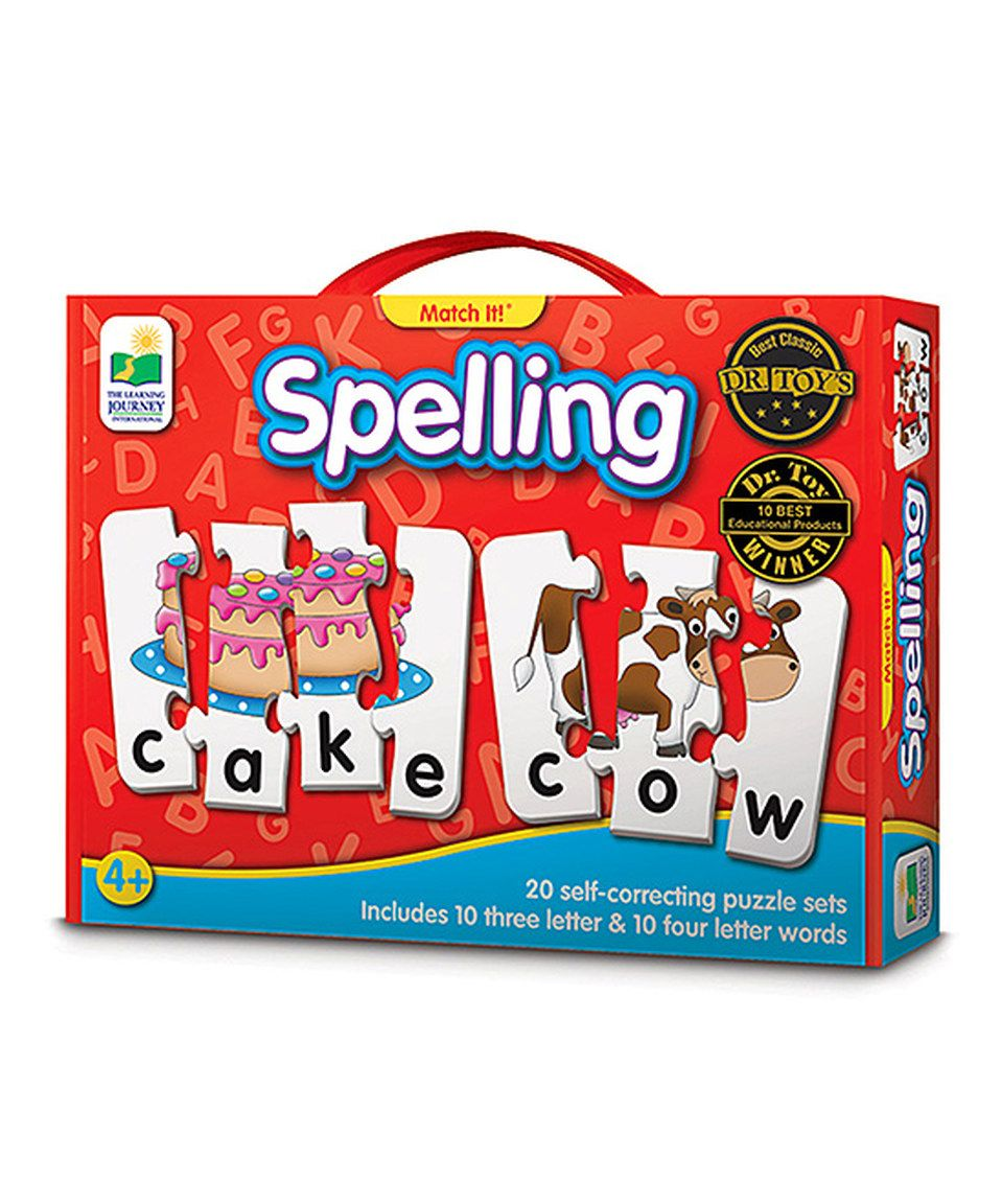 Loving this Match It! Spelling Memory Game on zulily!