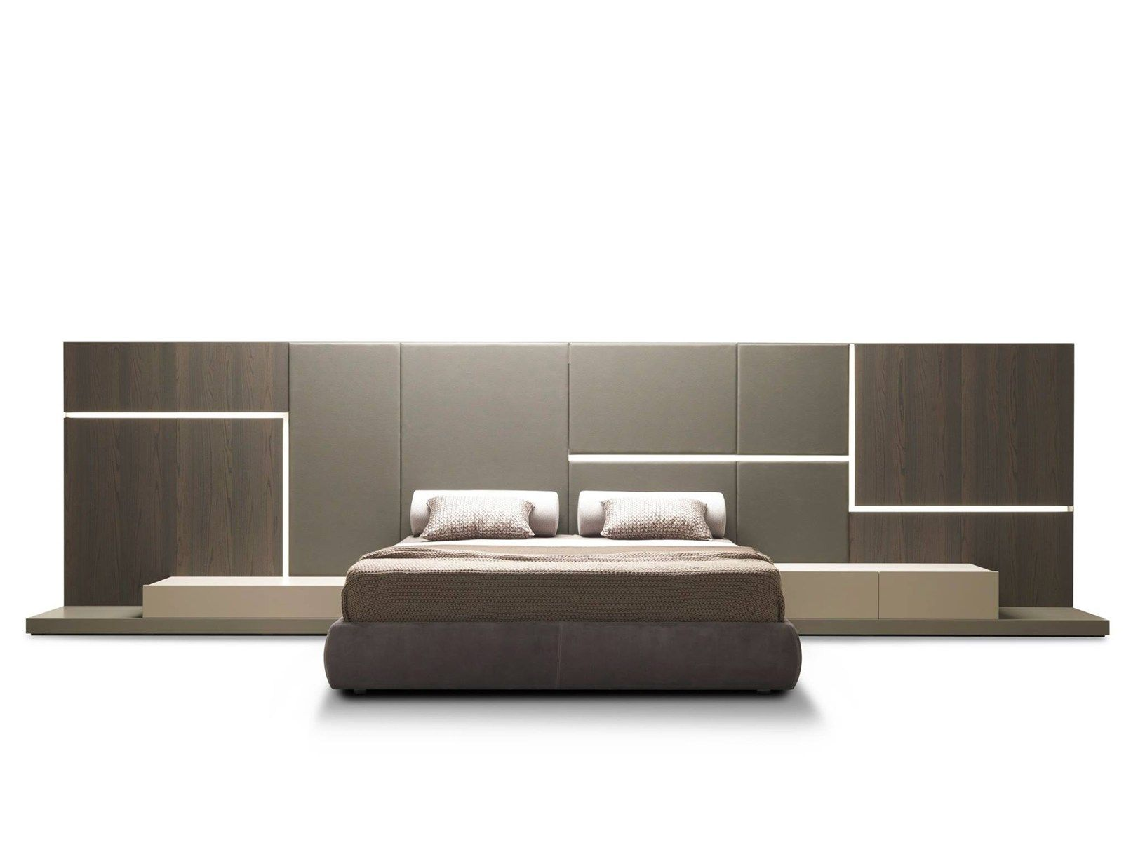 the ghiroletto bed is perhaps one of the most interesting elements, Schlafzimmer entwurf