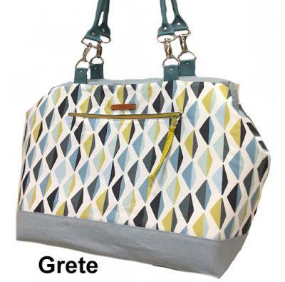 Carpet Bag in Bürotaschengröße- genäht von Grete im Oktober 2016 ...