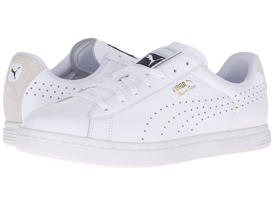 60d7431e81da PUMA PUMA - COURT STAR CRAFTED (PUMA WHITE PUMA WHITE) MEN S TENNIS SHOES.   puma  shoes