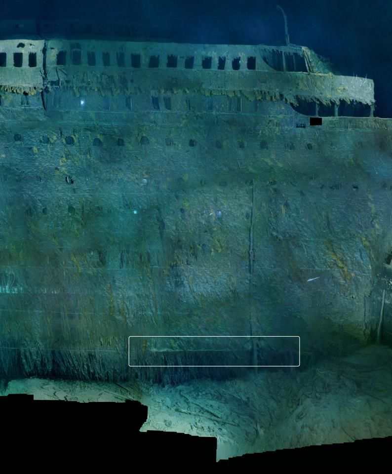 Titanic Wallpaper: Bow Section Titanic