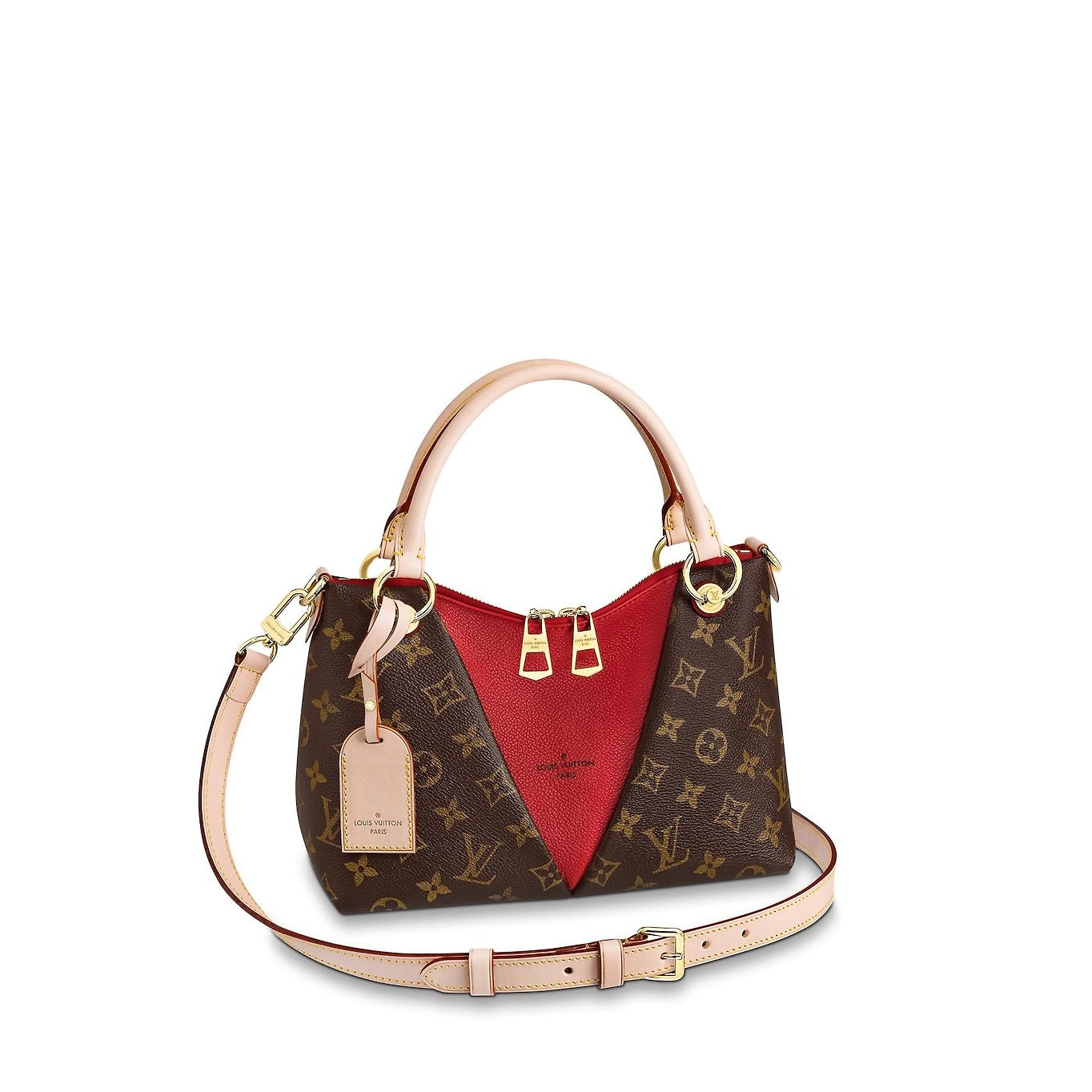 View 1 - V Tote BB Monogram Canvas in Women s Handbags Top Handles collections  by Louis Vuitton 08eda895f62a7